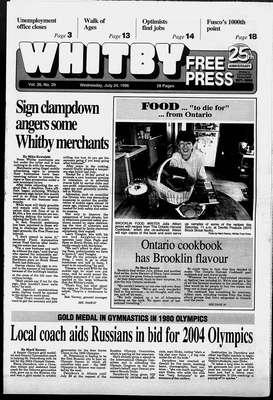 Whitby Free Press, 24 Jul 1996