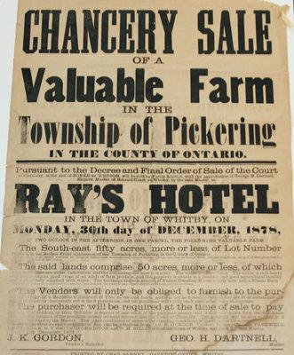 Chancery Sale