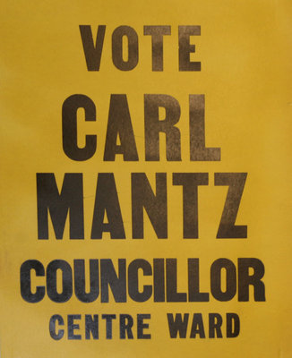 Vote Carl Mantz