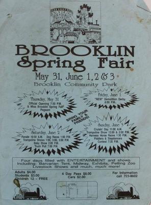 Brooklin Spring fair