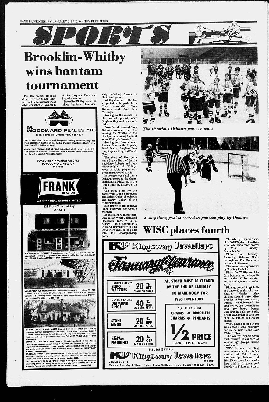 Whitby Free Press, 2 Jan 1980