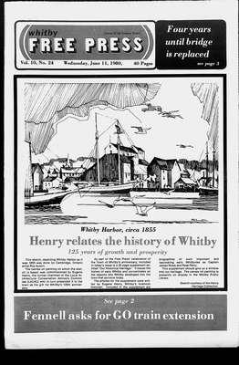 Whitby Free Press, 11 Jun 1980