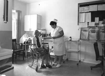 Therapy Room Fairview Lodge B. Wing, c. 1960