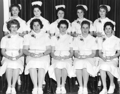 Nurses in Training, February 1960