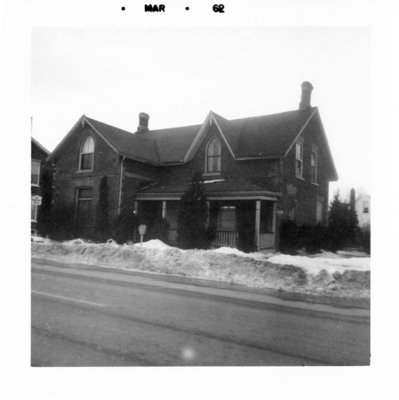 312 Dundas Street West, March 1962