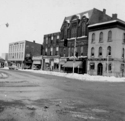 Brock Street, February 1962