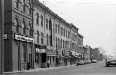 Brock Street South, April 1976