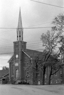 Brooklin United Church, April 1976