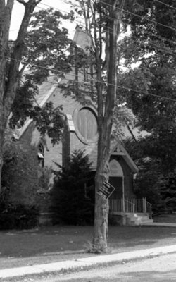 St. John the Evangelist Roman Catholic Church, July 1975