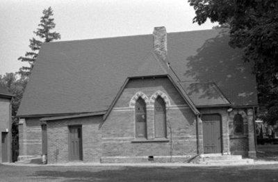 All Saints' Parish Hall, July 1975