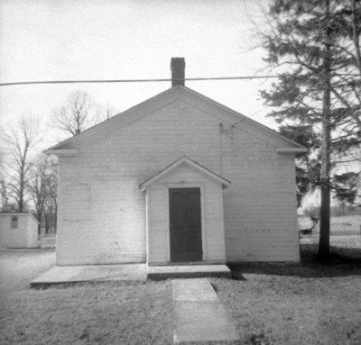 Almonds Methodist Church, April 6, 1969