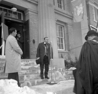 Whitby Centennial Building Opening, February 18, 1967