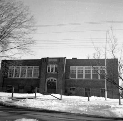 Brock Street Public School, March 1962
