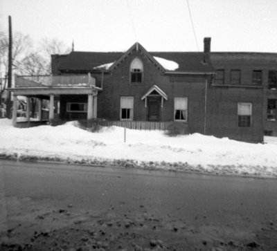 201 Brock Street North, February 1962