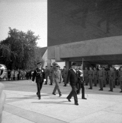 Visit of Governor General Roland Michener, September 18, 1968