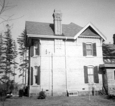 John Joshua Fothergill House, April 6, 1969