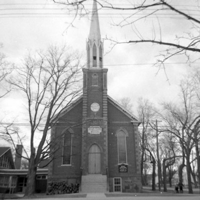 Brooklin United Church, April 11, 1966