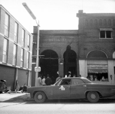 Fire At Bell's Taxi, April 7, 1969