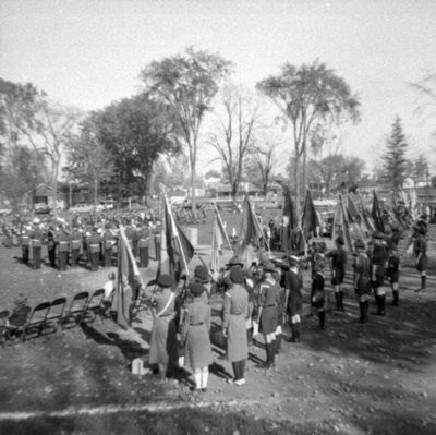 Whitby Boy Scouts Parade and Rally, October 1958