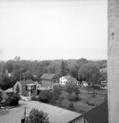 Looking North from All Saints' Anglican Church, May 1964