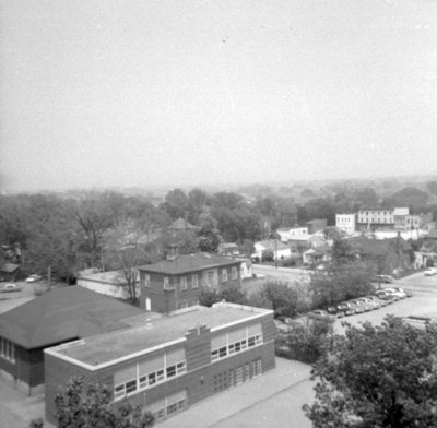Looking Southeast from All Saints' Anglican Church, May 1964