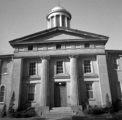 Ontario County Courthouse, September 25, 1965