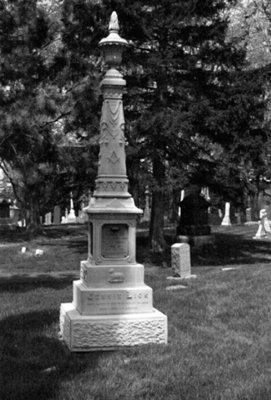 Gravestone of Jennie Lick