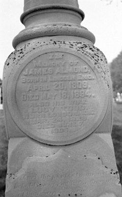Almond Family Gravestone