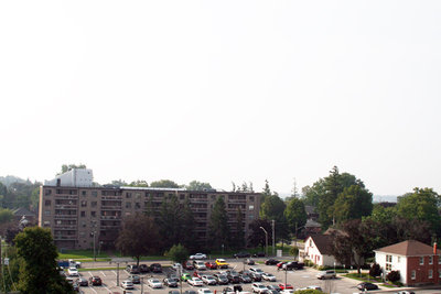 Looking Southwest from All Saints' Anglican Church, September 10, 2013
