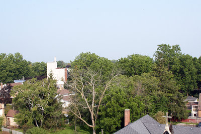 Looking North from All Saints' Anglican Church, September 10, 2013