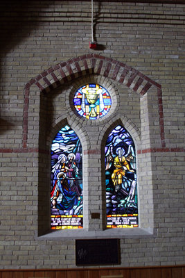 All Saints' Anglican Church Stained Glass Windows, September 10, 2013