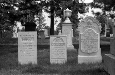 Reverend Robert Hill Thornton Family Gravestones