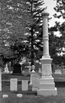 Reverend Robert Hill Thornton Family Gravestones