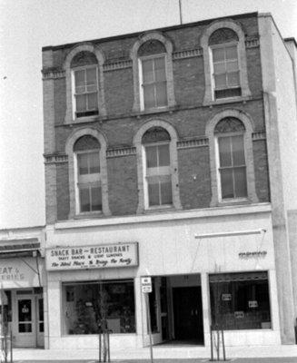 111 & 113 Brock Street North, c. 1973