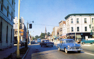 Dundas Street looking West, 1962