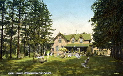 Spruce Villa Hotel, c.1930