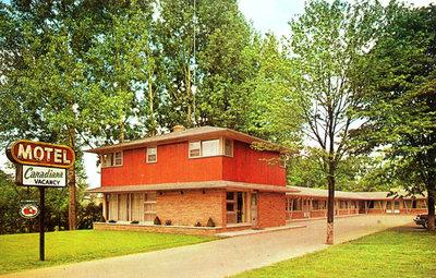 Canadiana Motel, c.1960