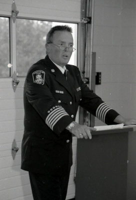 Opening of the Brooklin Fire Hall, September 18, 2006