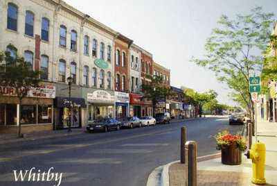 Brock Street looking south from Dundas Street, 2003