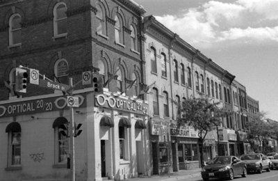 Brock Street South, October 2005