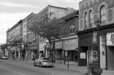 Brock Street Looking North, October 2005