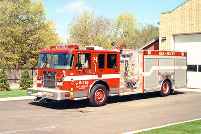 2001 Spartan Gladiator FF Pumper Truck, May 10, 2002