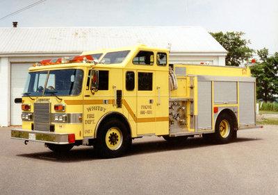 1990 Pierce Lance Pumper Truck, July 13, 1996