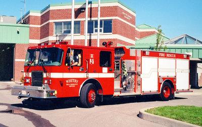 1996 Spartan Advantage Pumper Truck, May 24, 2002