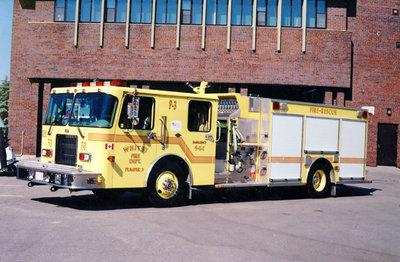 1997 Spartan Advantage Pumper Truck, June 20, 2002