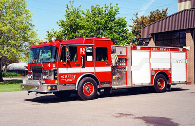 1996 Spartan Diamond Pumper Truck, May 22, 2002