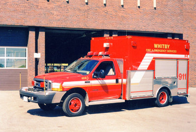 1999 Ford F550 Rescue Truck, July 20, 2002