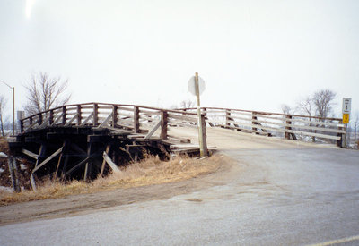 Rossland Road CPR Bridge, 2002