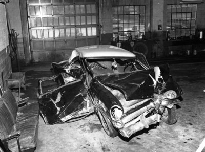 Car Wreck, c.1950