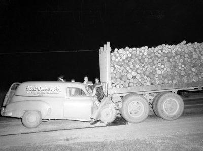 Car Accident, c.1950